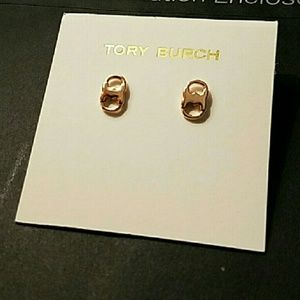 Tory Burch Jewelry - Tory Burch Gemini stud earrings
